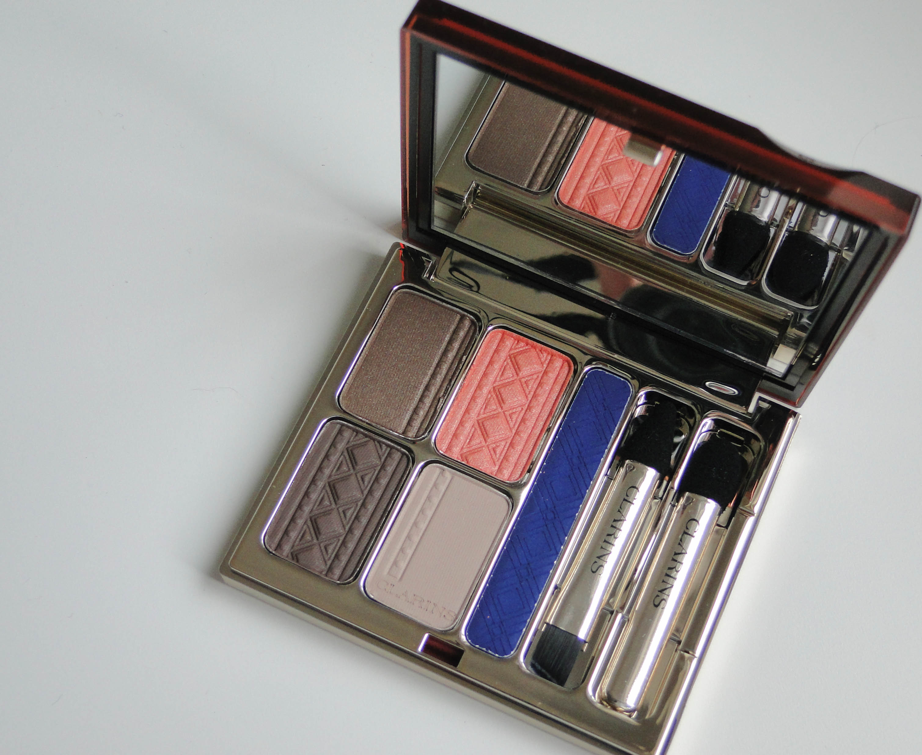 Clarins Color of Brazil Eye Quartet 1