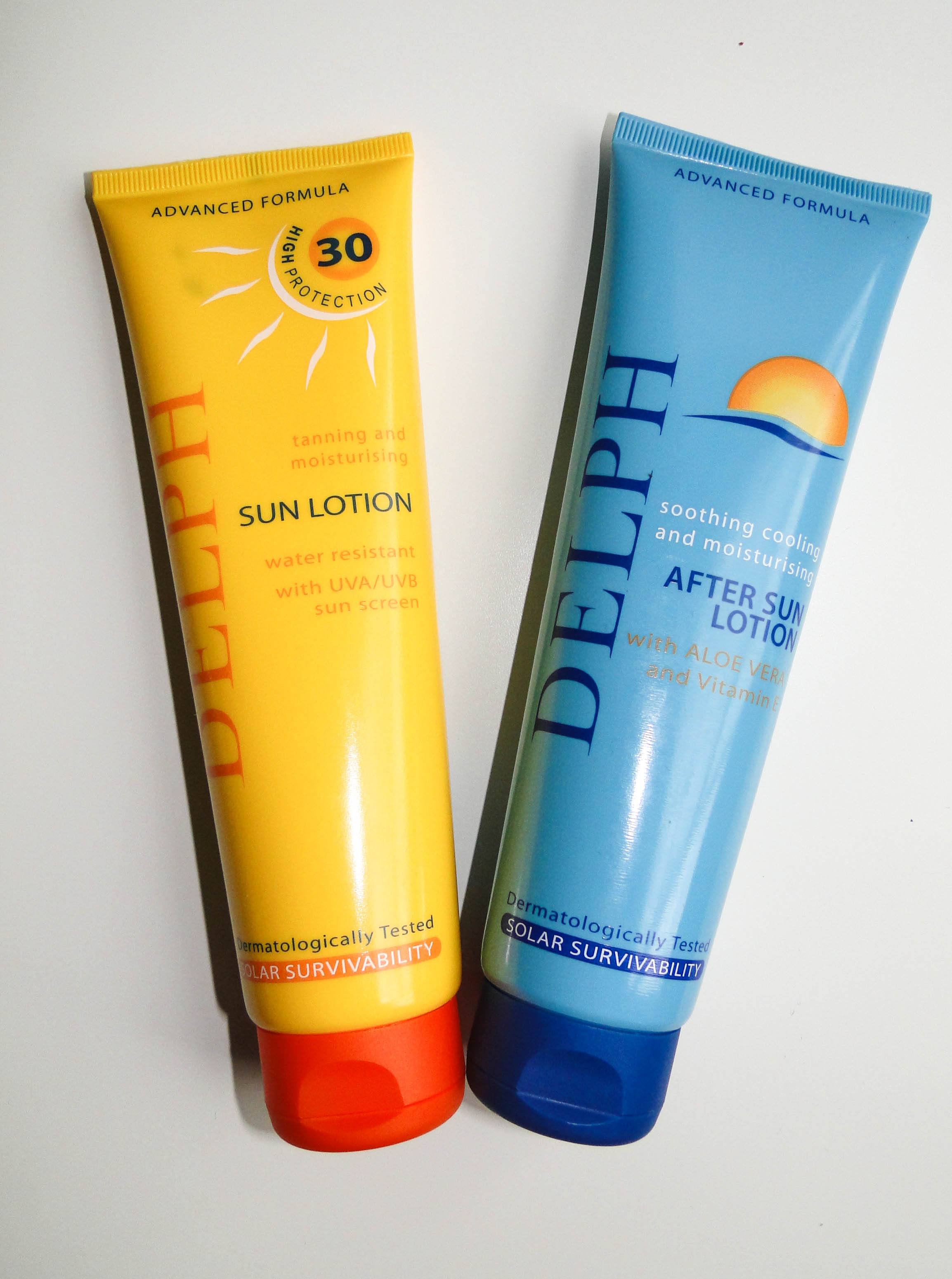 Delph Sunscreen and Aftersun