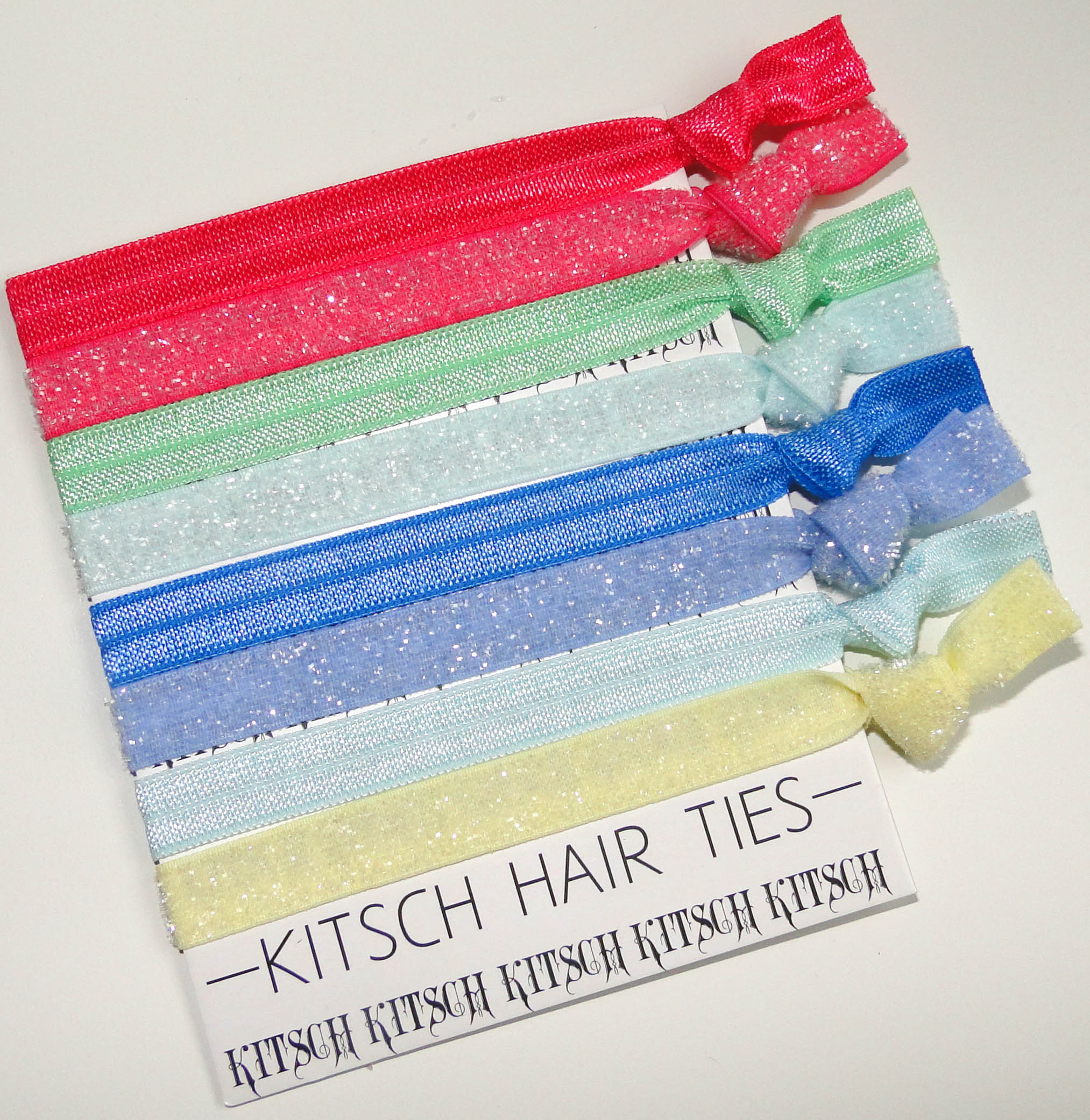 Kitsch Frosted Hair Ties