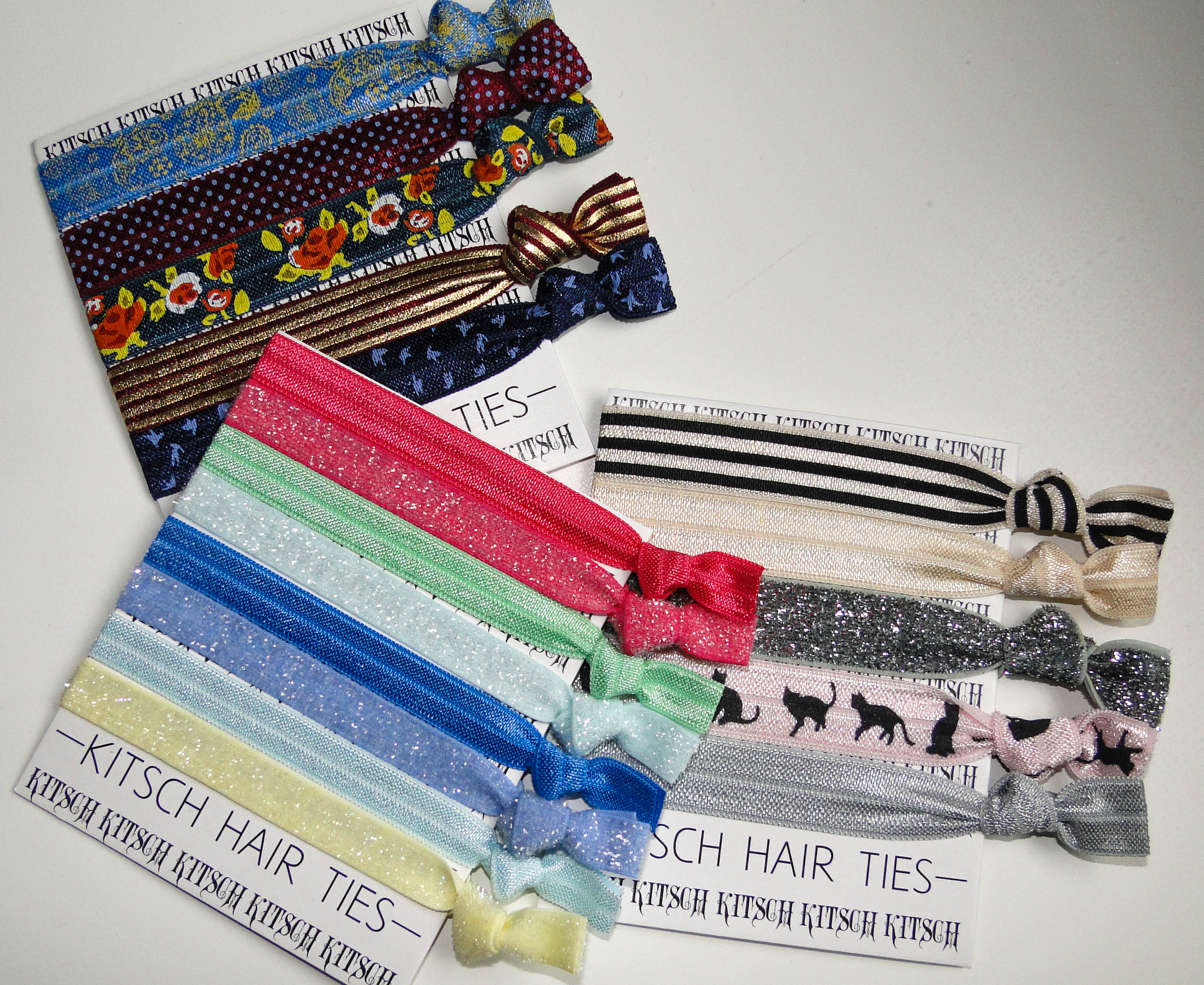 Kitsch Hair Ties Summer 2014