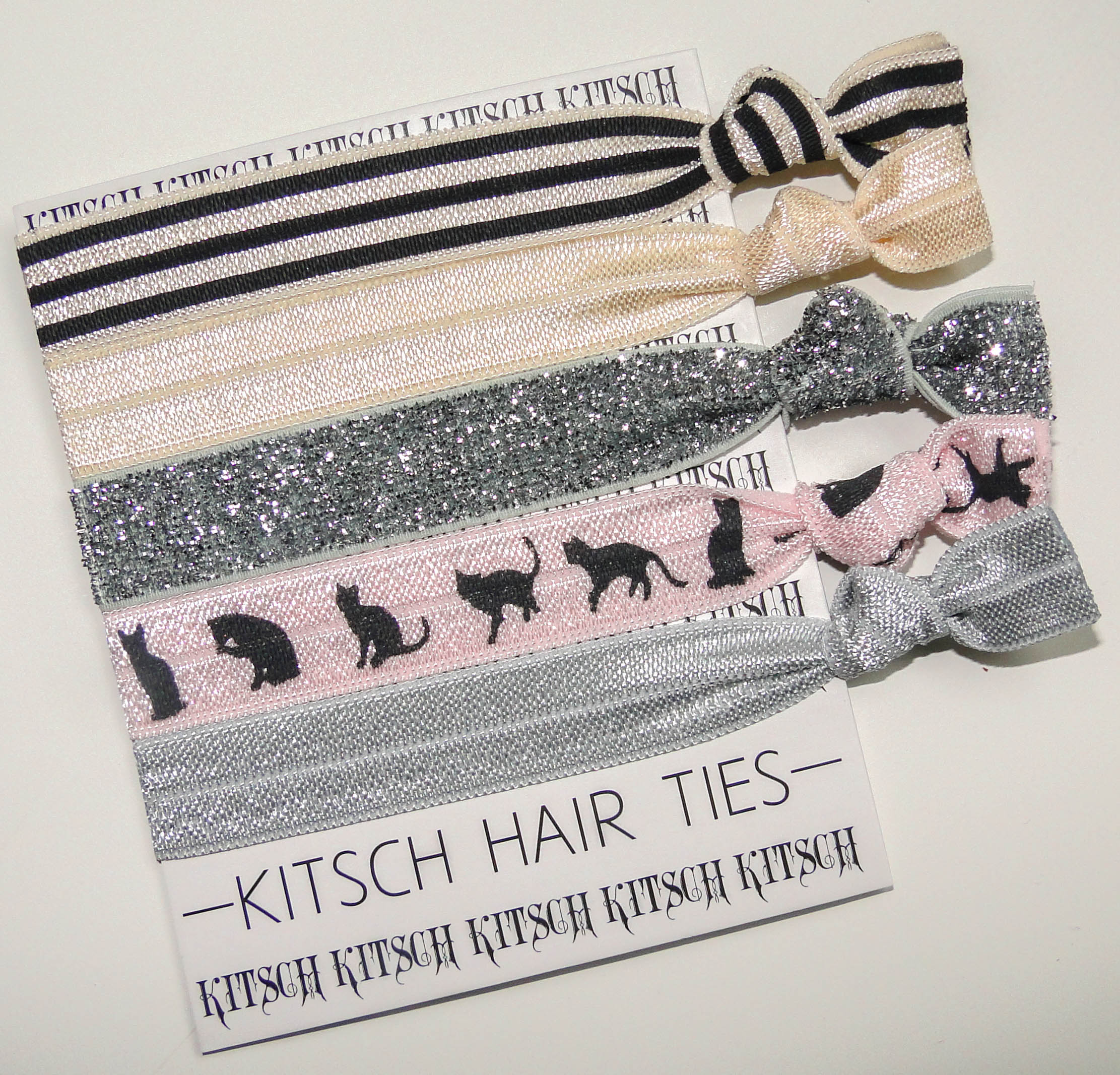 Kitsch The Cat's Meow Hair Ties