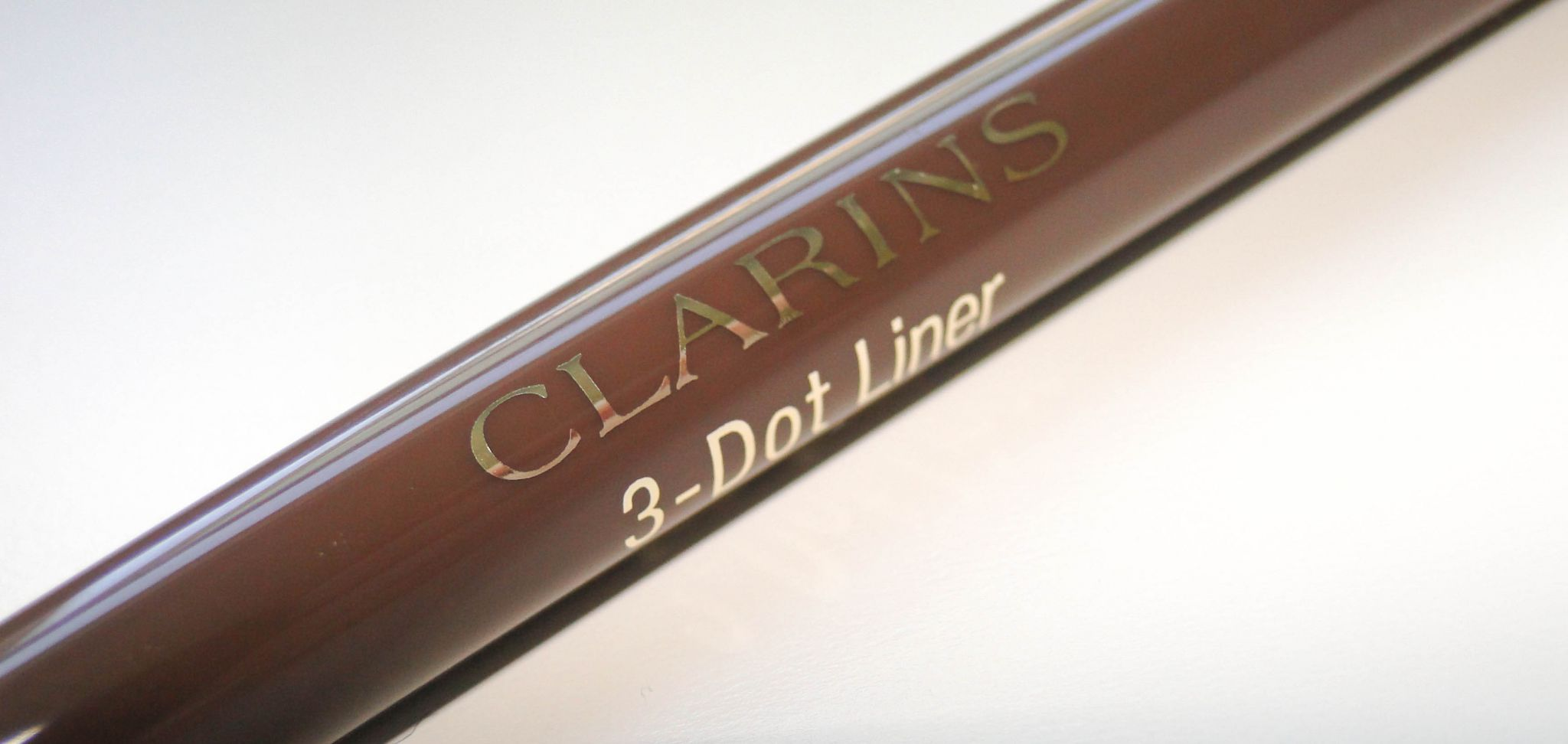 Clarins Autumn 2014 Brown 3 Dot Liner