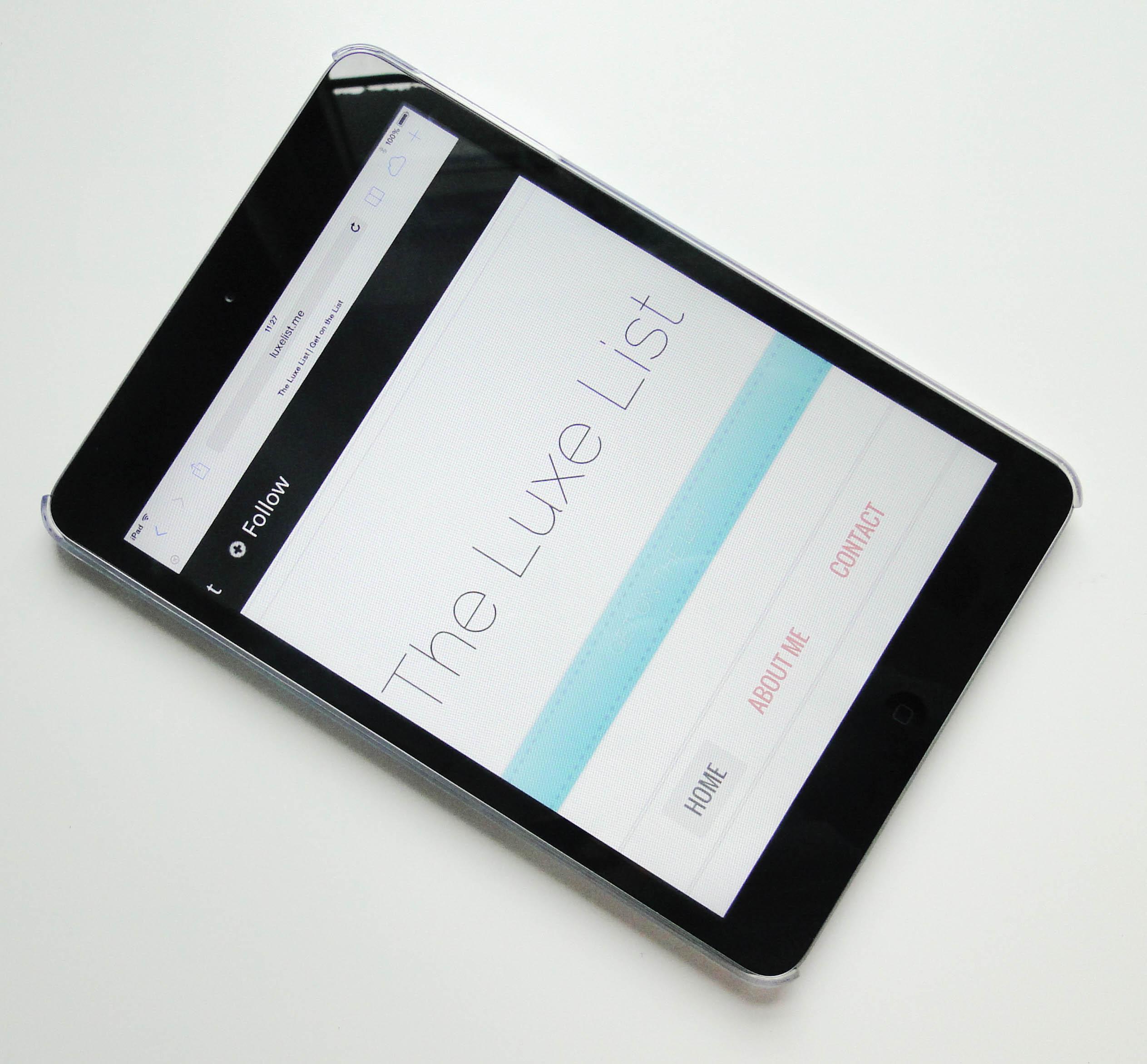 Mr Nutcase iPad mini case