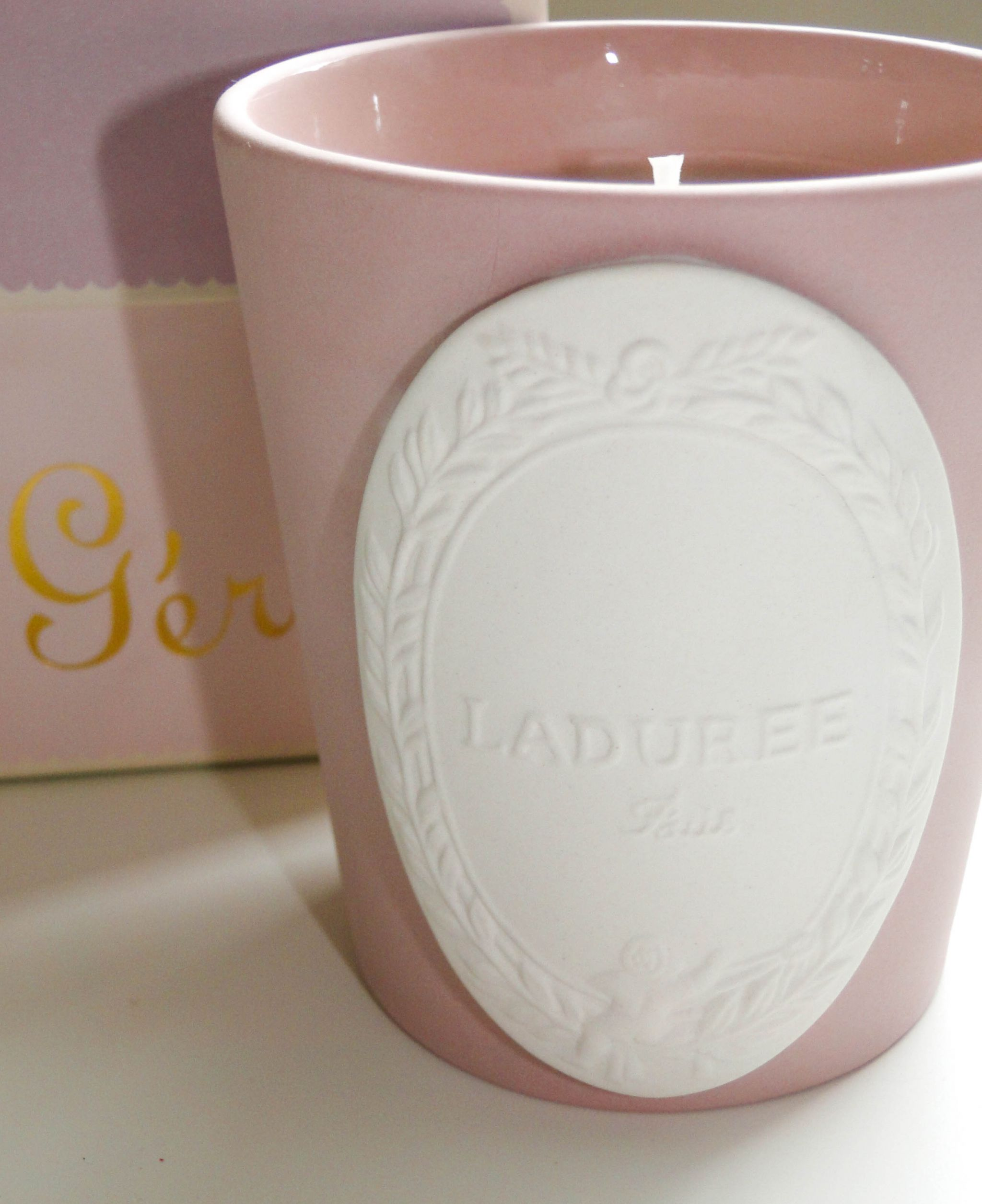 Laduree Geranium Candle-4