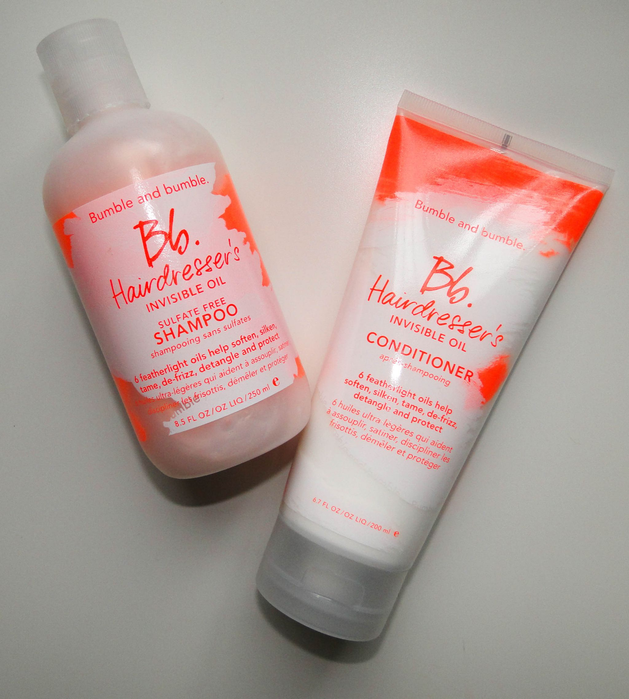 Bumble & Bumble Hairdresser's Oil Shampoo, Conditioner and Primer