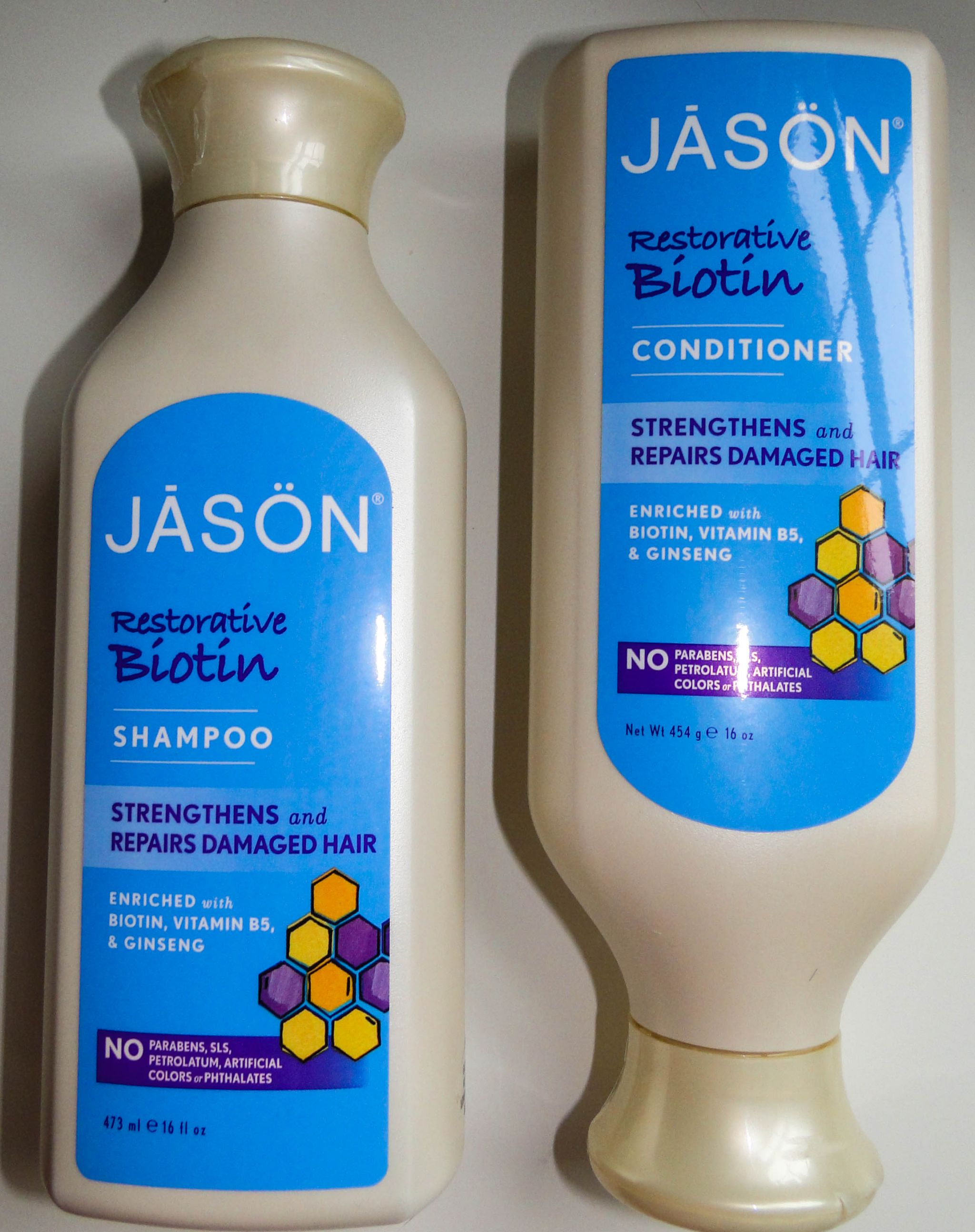 Jason Restorative Biotin Shampoo and Conditioner