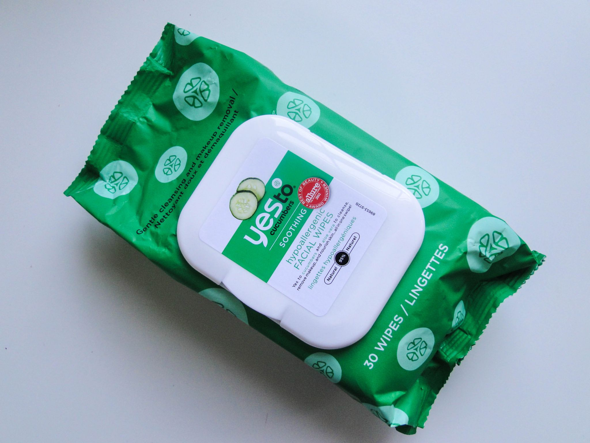 Yes to Cucumbers Soothing Face Wipes