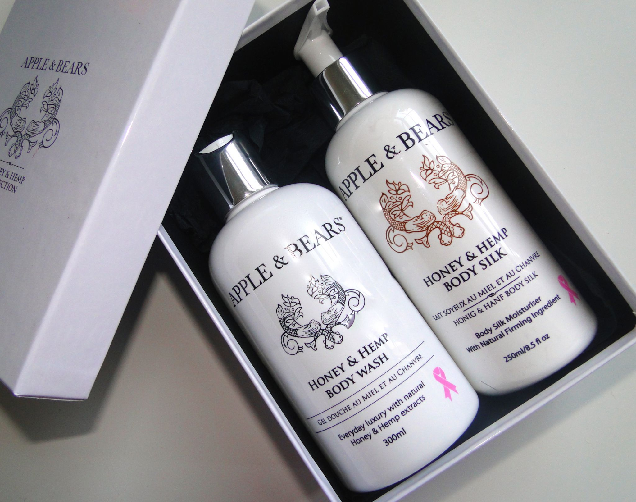 Apples and Bears Luxury Body Care Gift Set