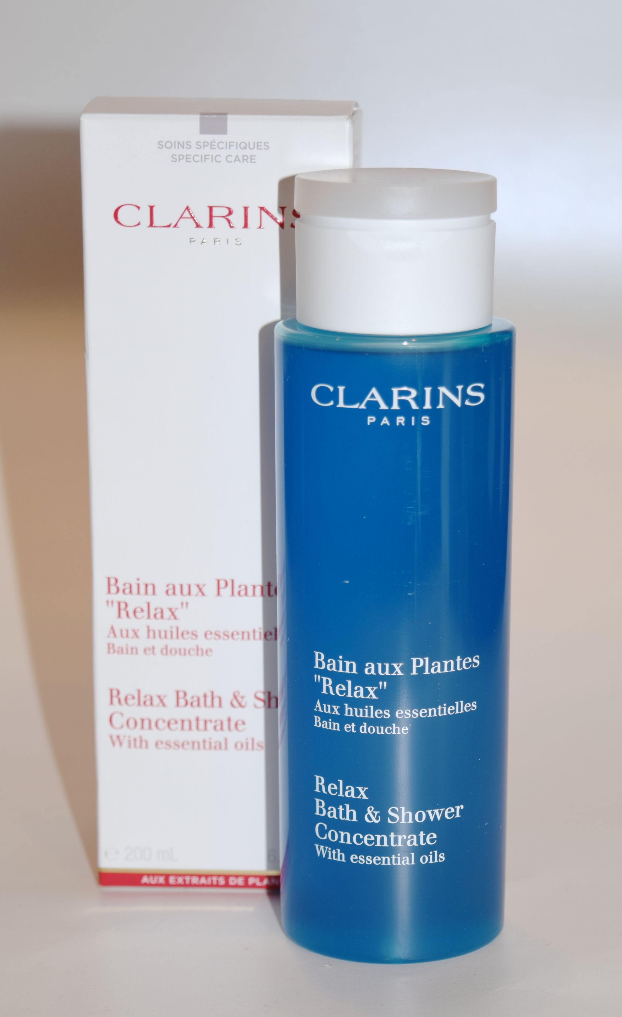 Clarins Relax Bath Amp Shower Concentrate The Luxe List