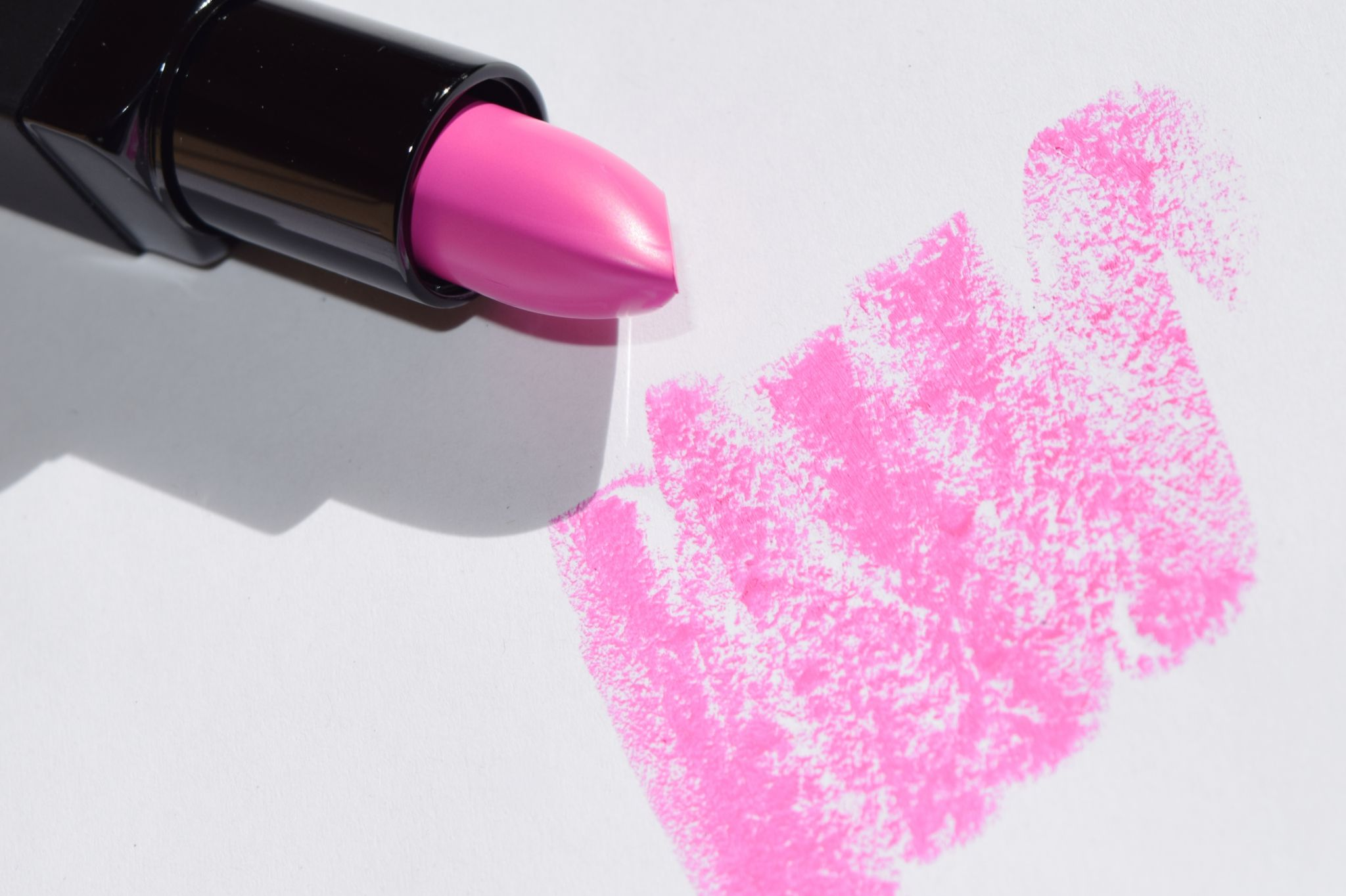 Smashbox Be Legendary Lipstick Matte Vibrant Magenta The Luxe List Palettelimited Edition Swatch