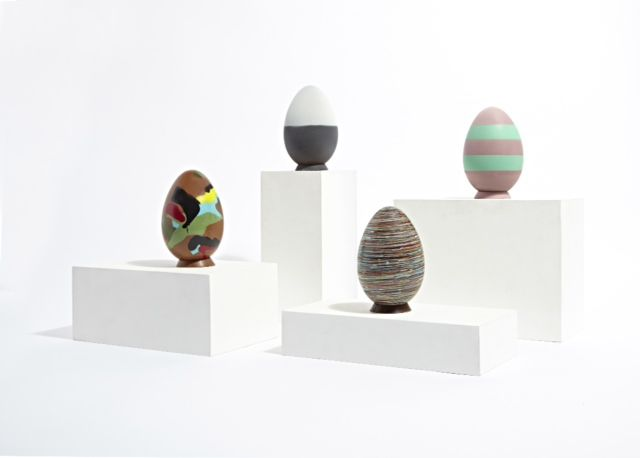 Summer 15 trends inspired Easter Eggs at Harvey Nichols