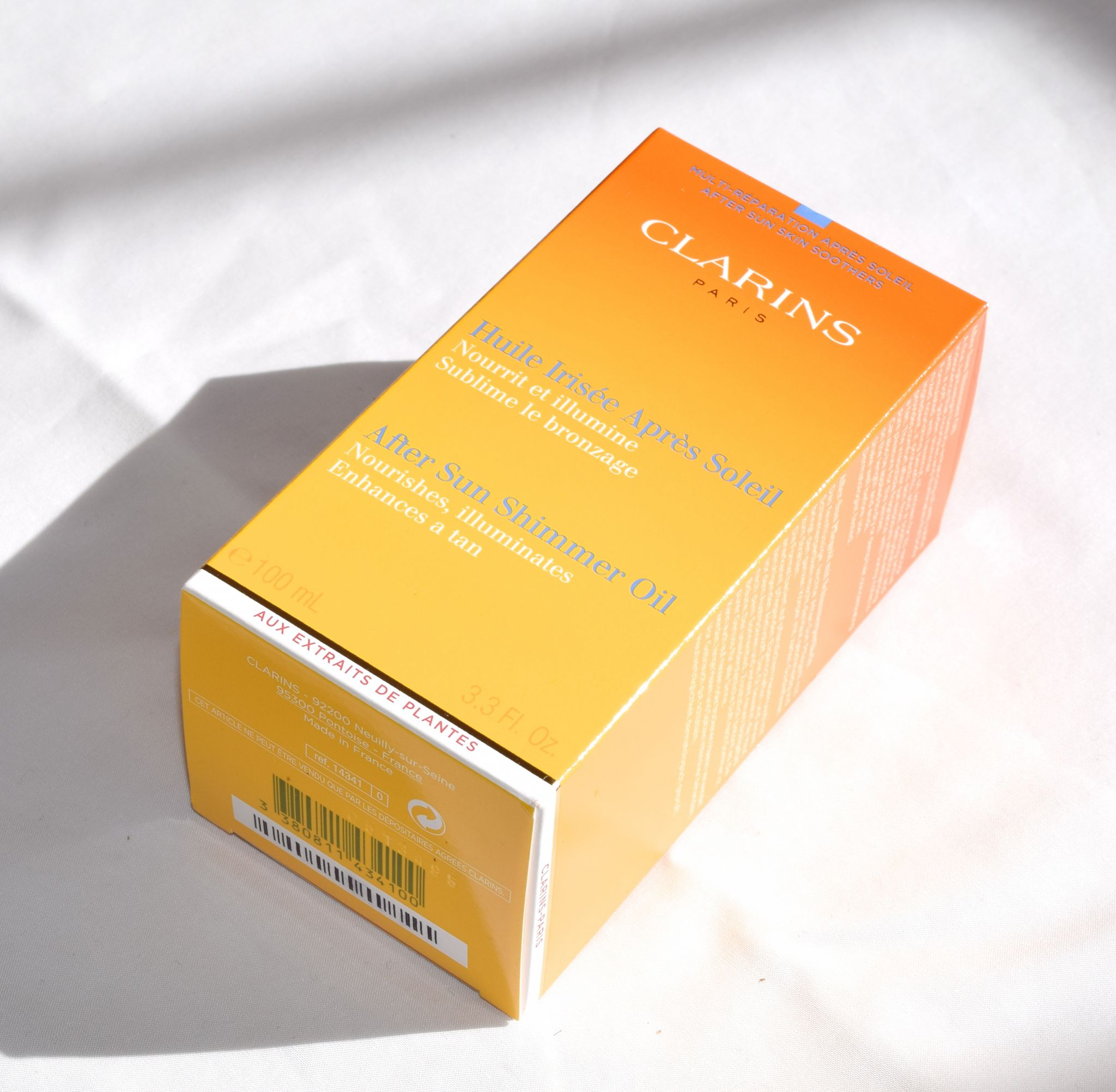 Clarins After Sun Shimmer Oil