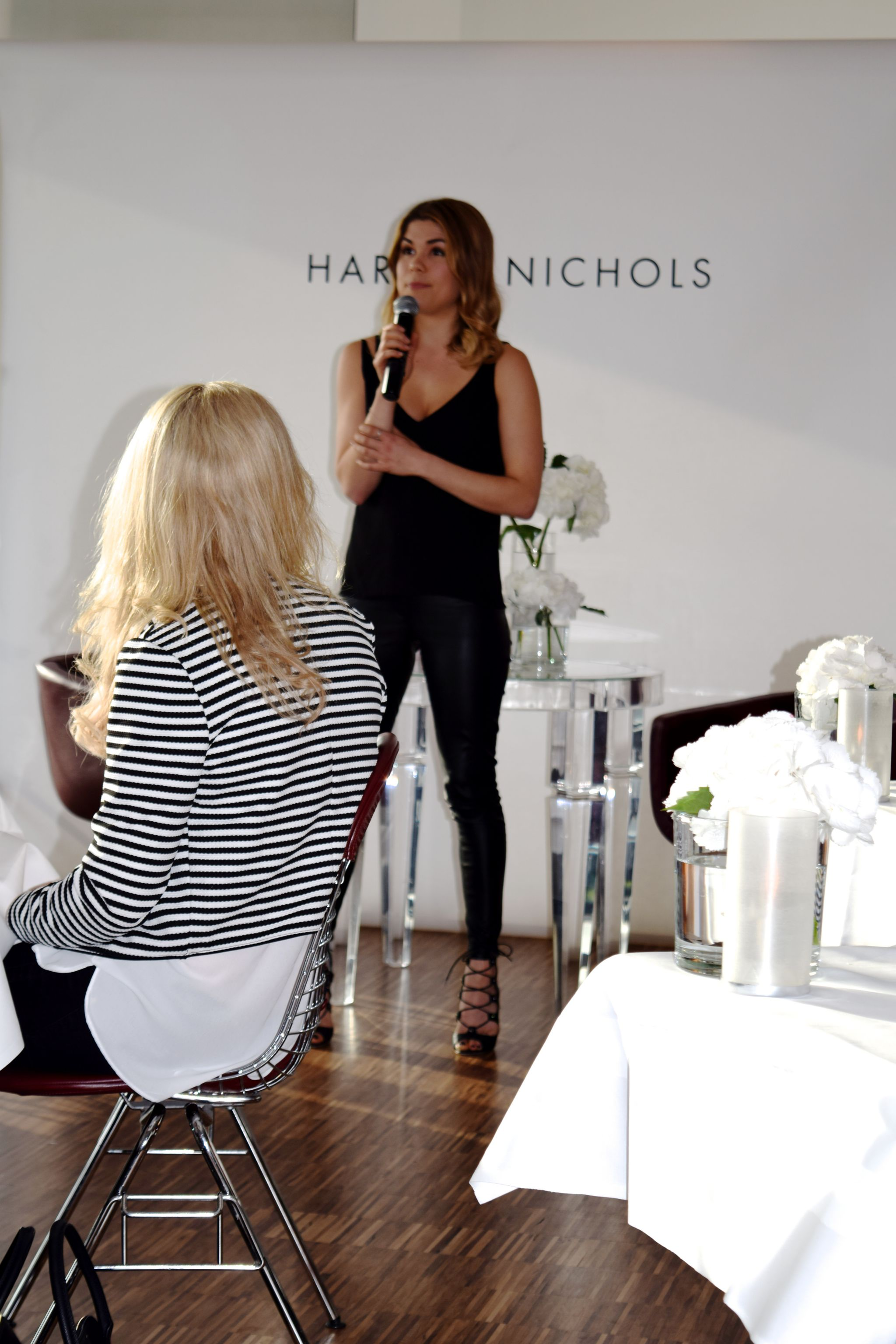 Madeleine Shaw Supper Club Harvey Nichols 7