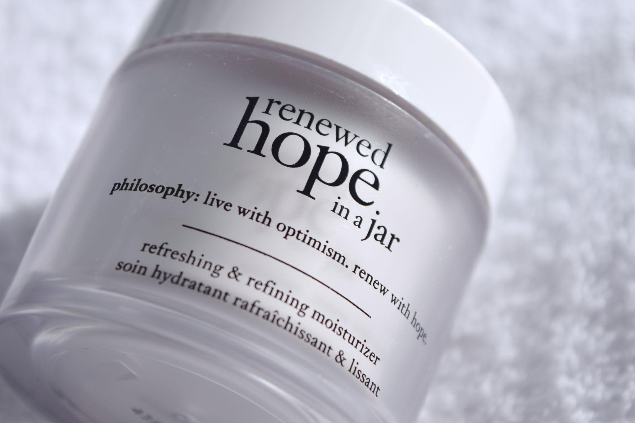 Philosophy Renewed Hope in a Jar 2