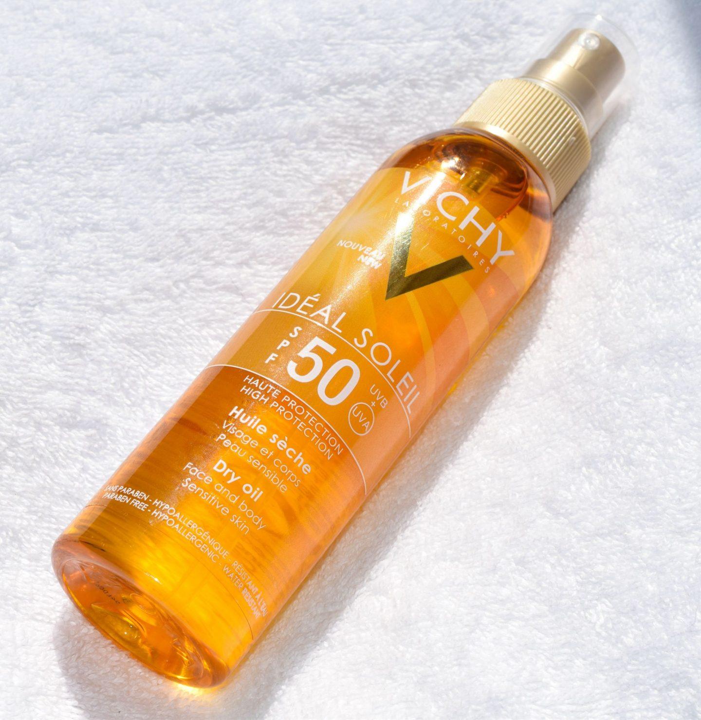 Vichy ideal soleil spf 50 dry oil