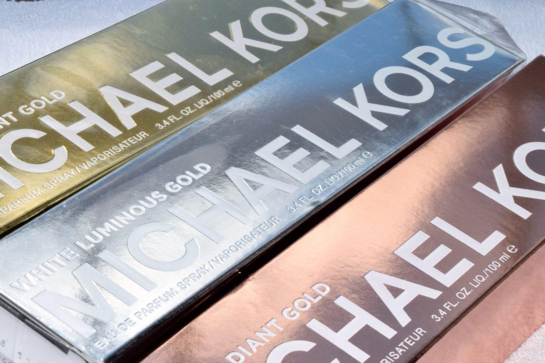 Michael Kors Gold Perfume Collection