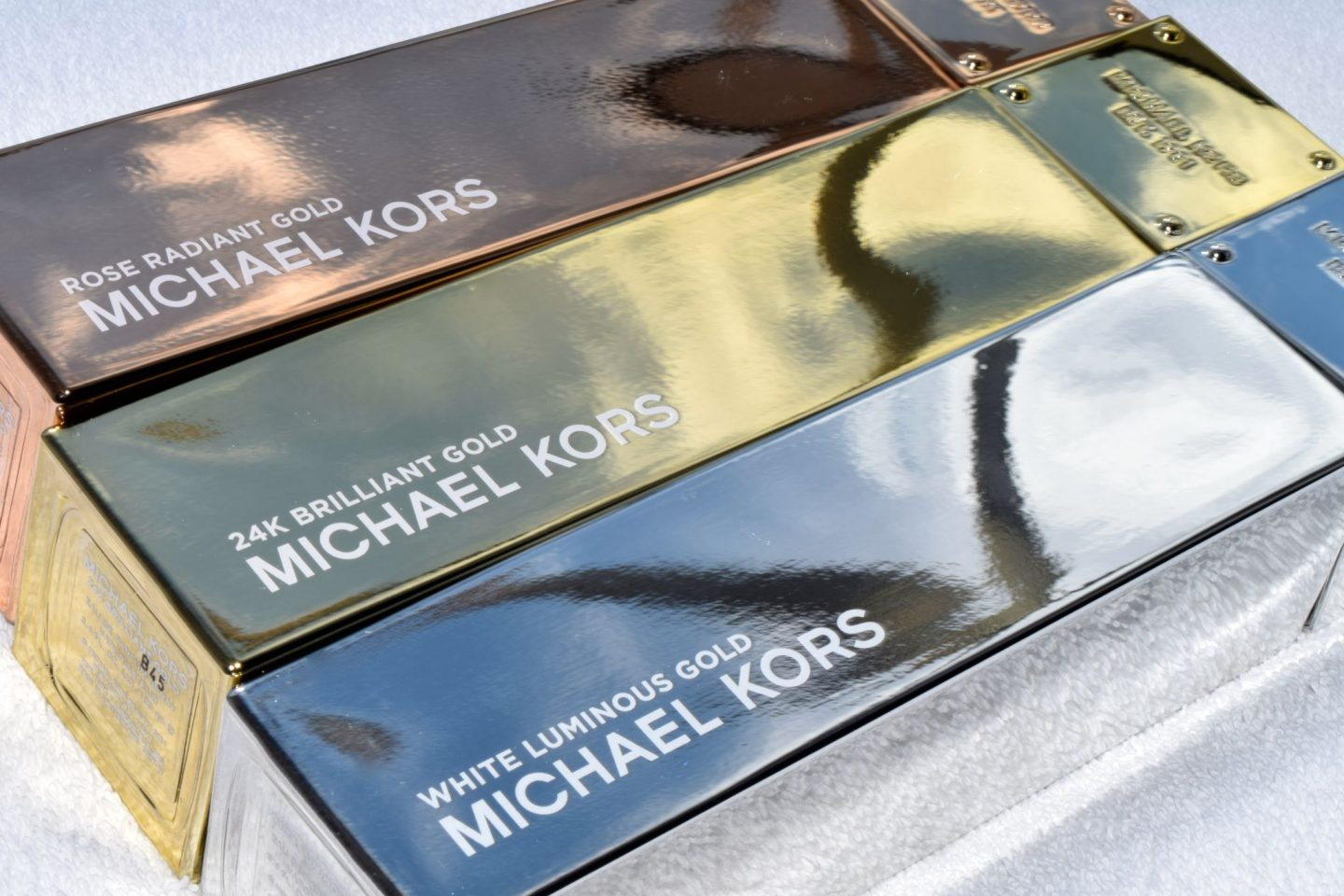 Michael Kors Gold Perfume Collection 2