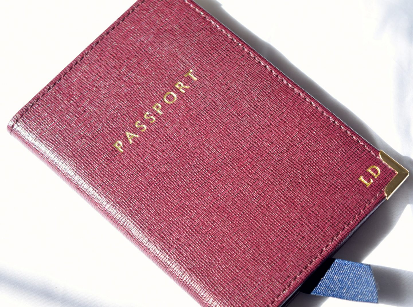 Aspinal of London Travel Collection Passport Holder