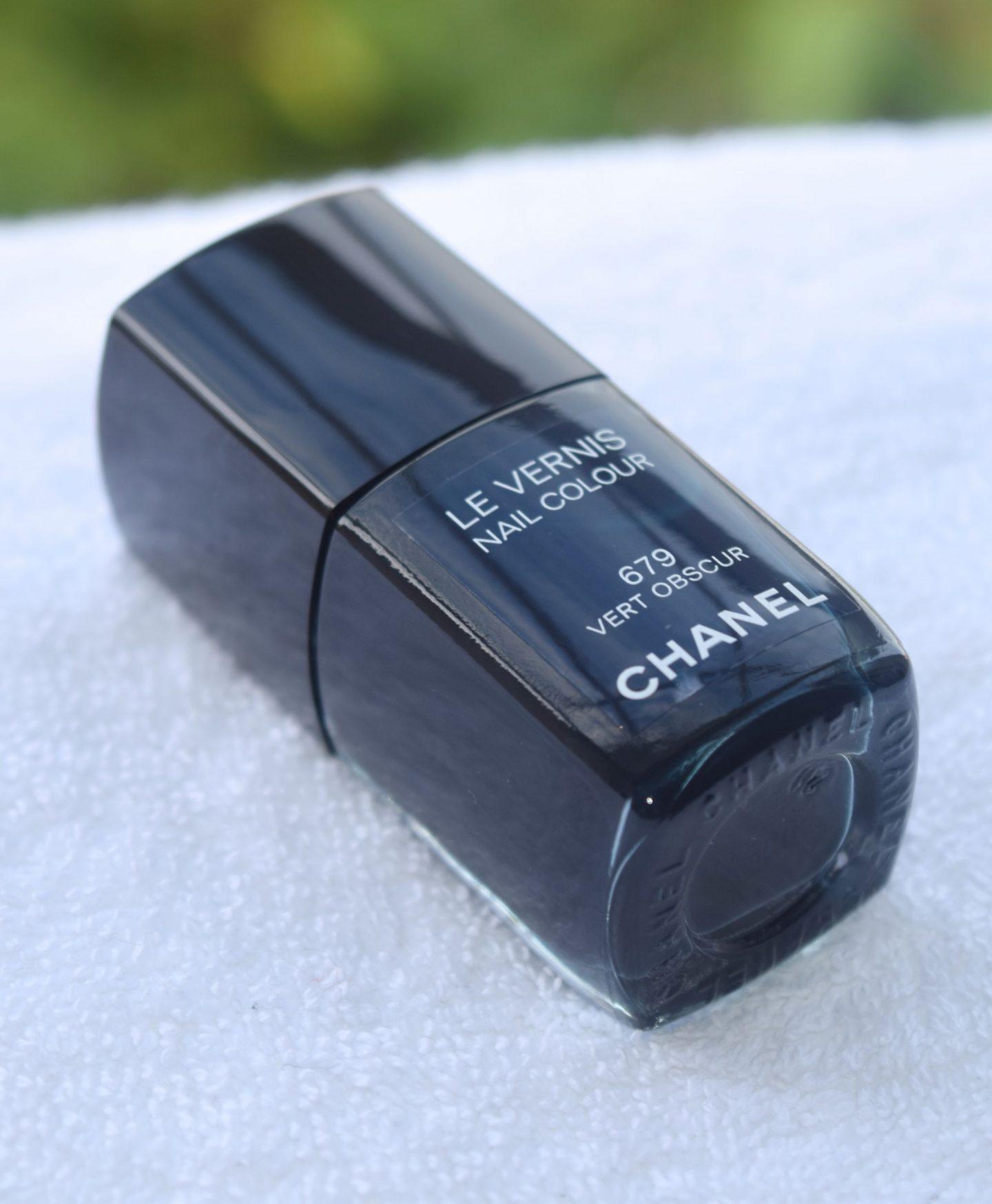 Chanel Le Vernis Vert Obscur