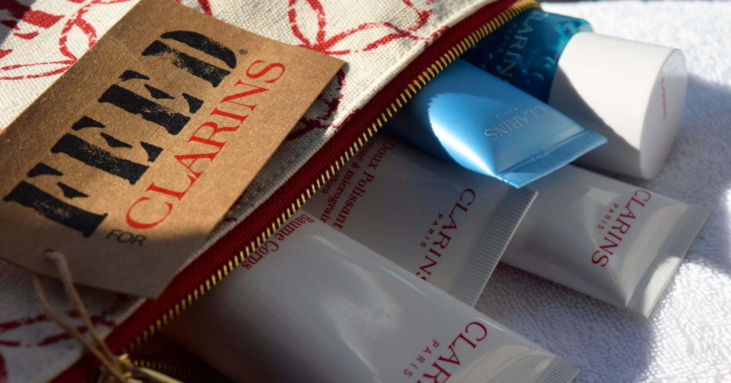 Clarins Feed 10 Gift with Purpose 2015 2
