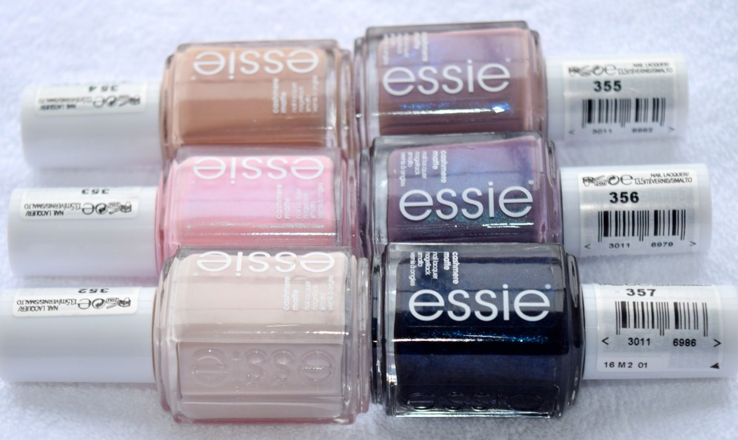 Essie Cashmere Matte Collection 1