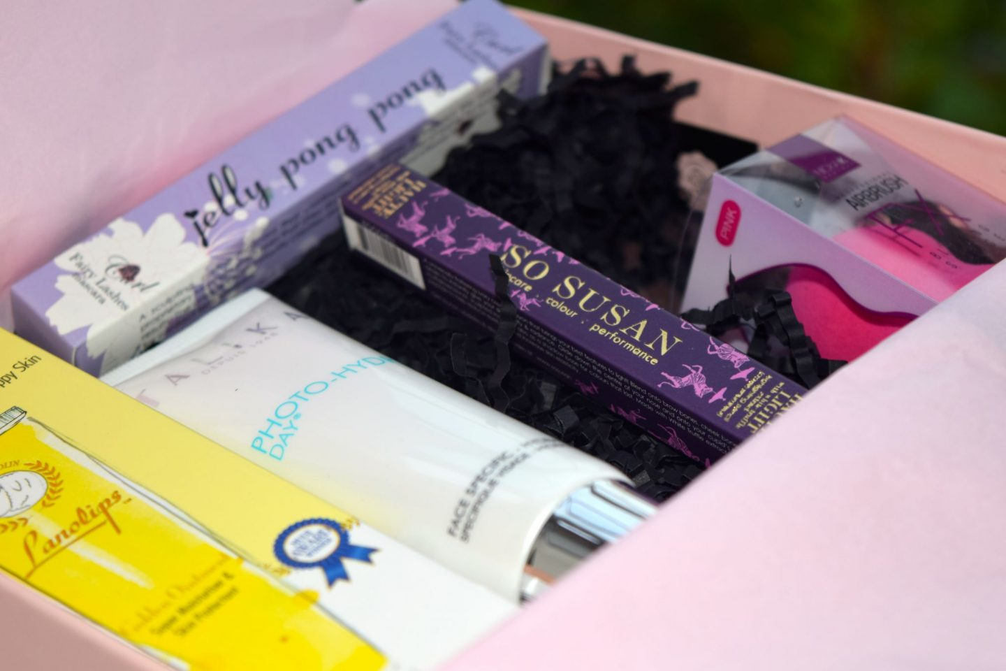 Glossybox October 2015 UK contents