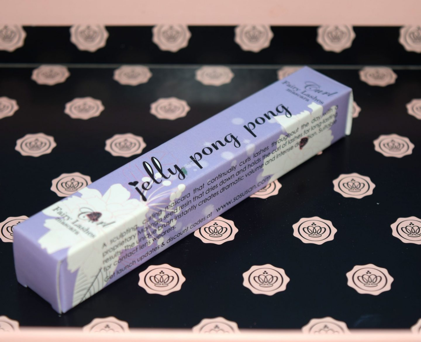 Glossybox October 2015 UK Jelly Pong Pong Fairy Lashes