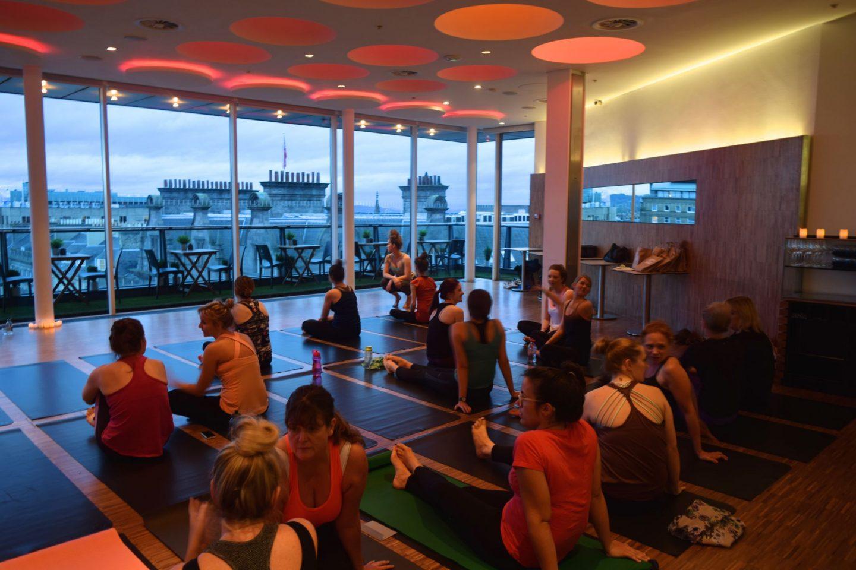 Harvey Nichols Yoga Event 1