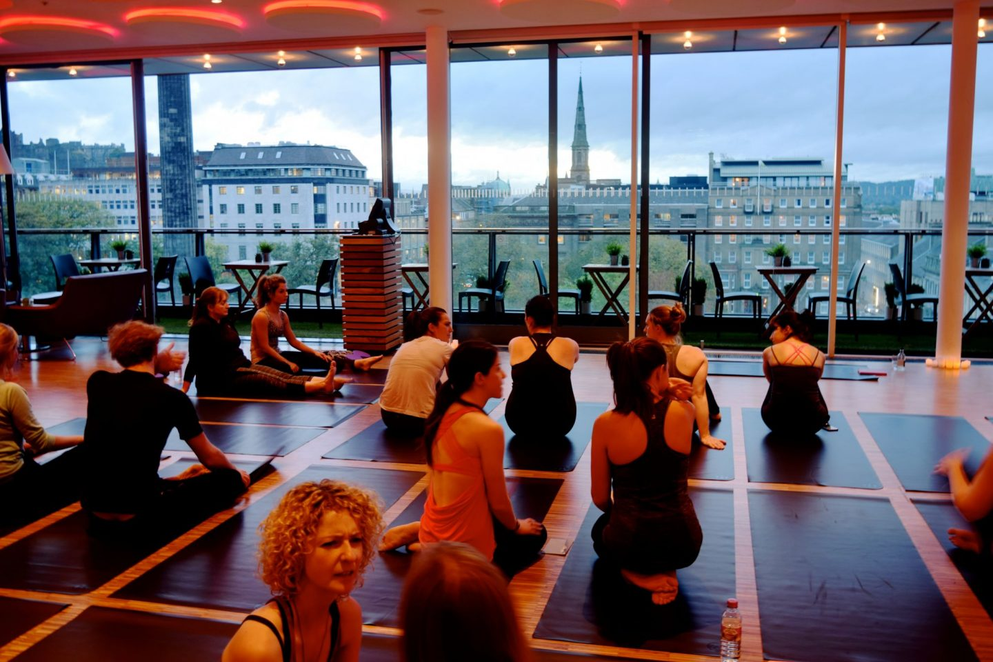Harvey Nichols Yoga Event 2
