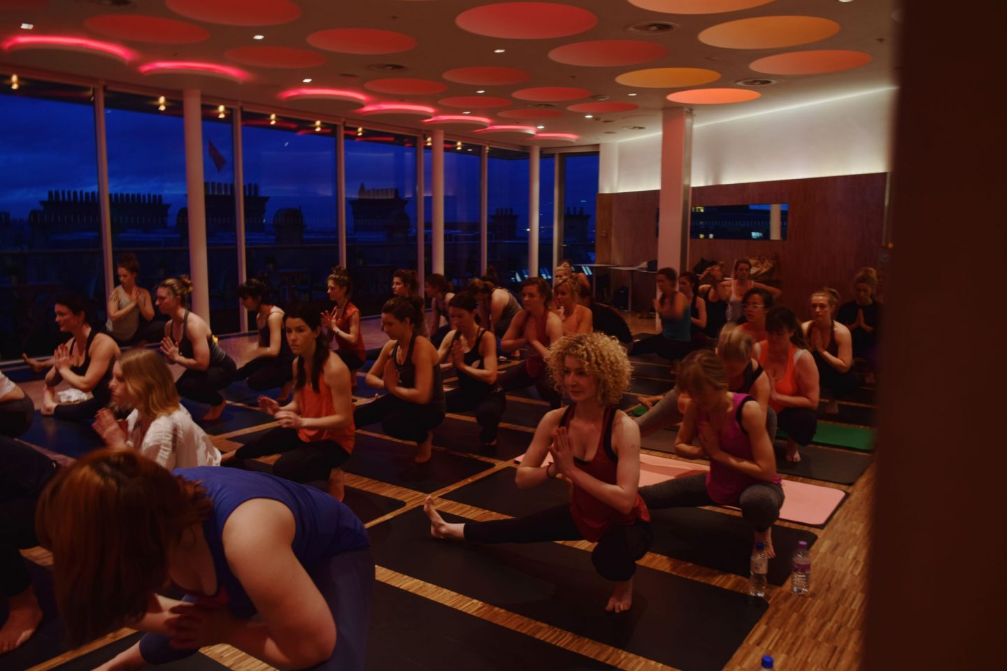 Harvey Nichols Yoga Event 3