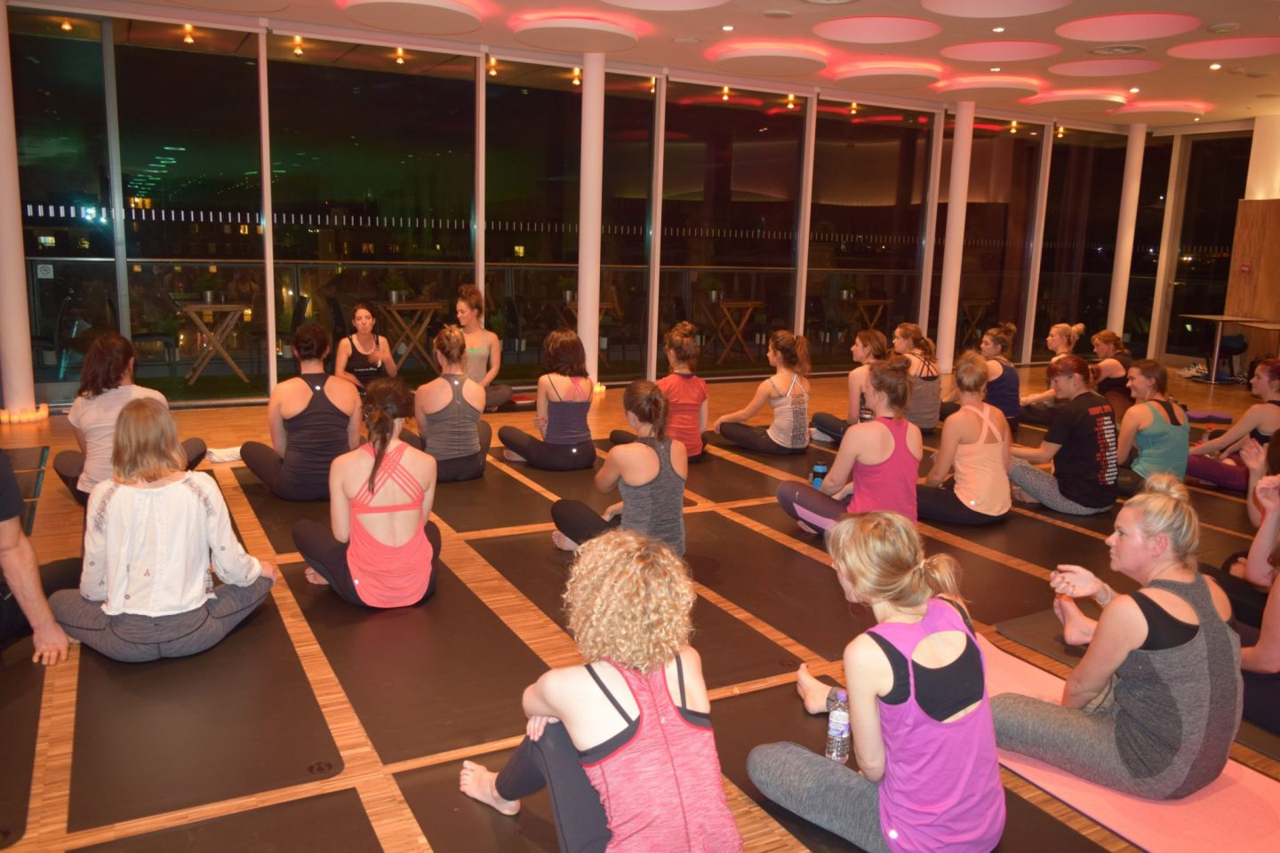 Harvey Nichols Yoga Event 6