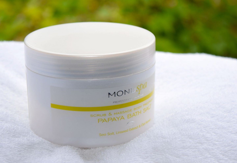 Monu Spa Papaya Bath Salts