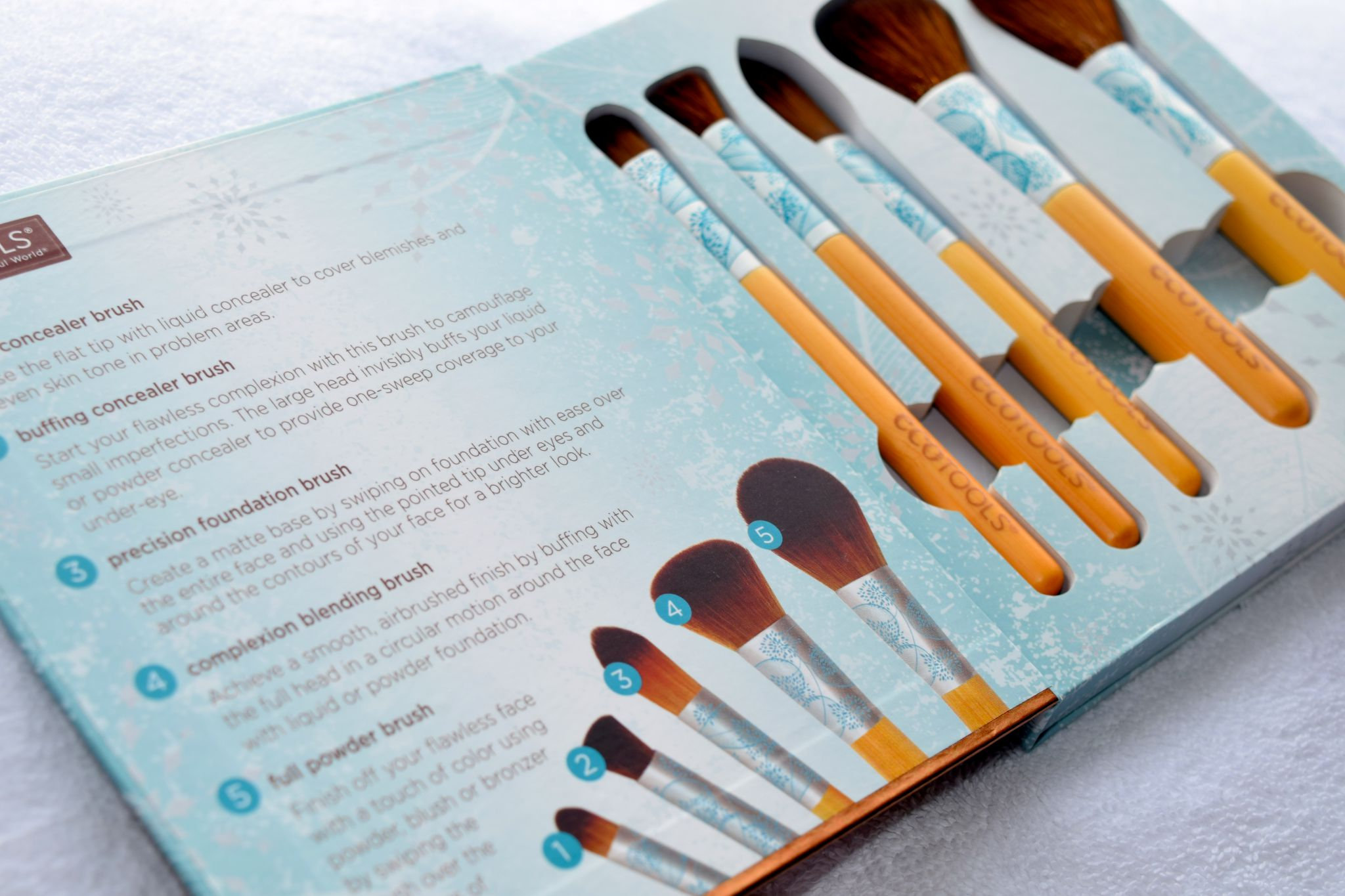 Eco Tools Festive and Flawless brushes 1