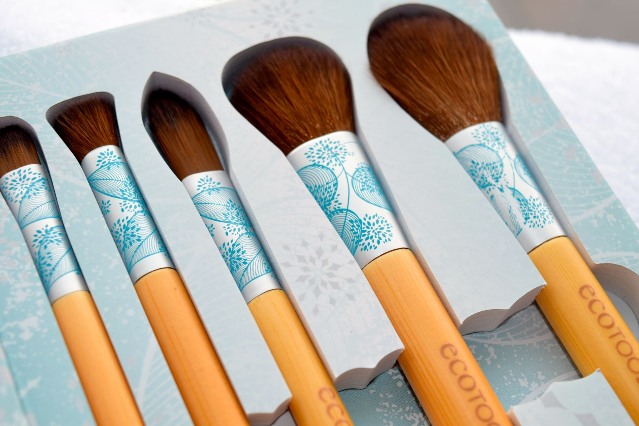 Eco Tools Festive and Flawless brushes 2