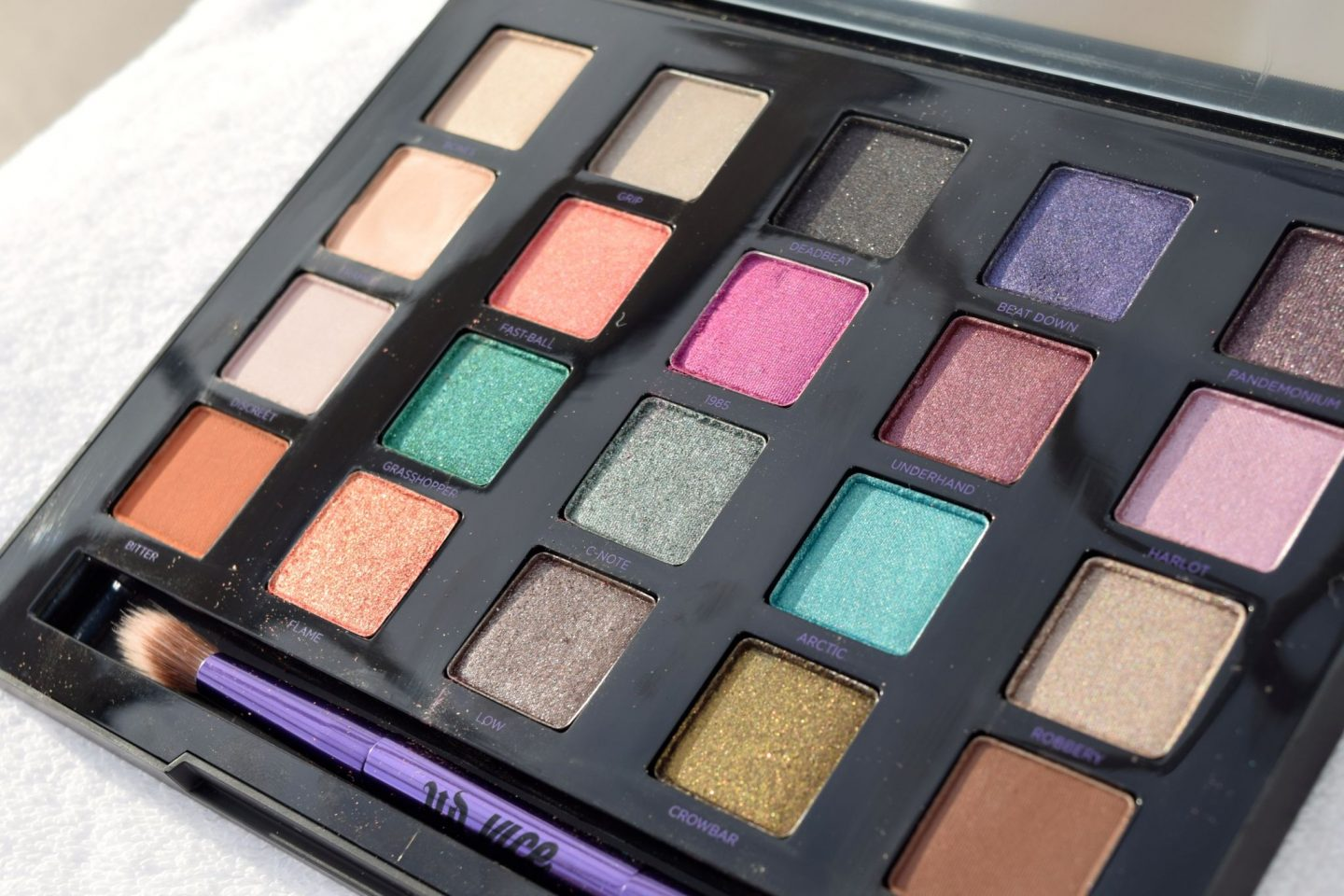 Urban Decay Vice 4 Palette 4