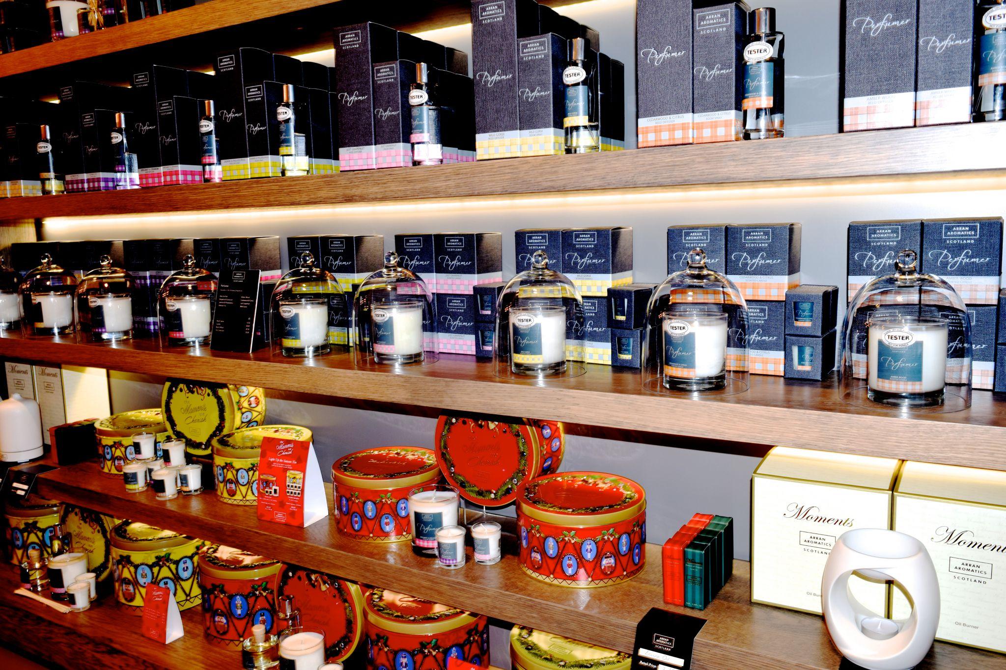 Arran Aromatics Edinurgh Store 8