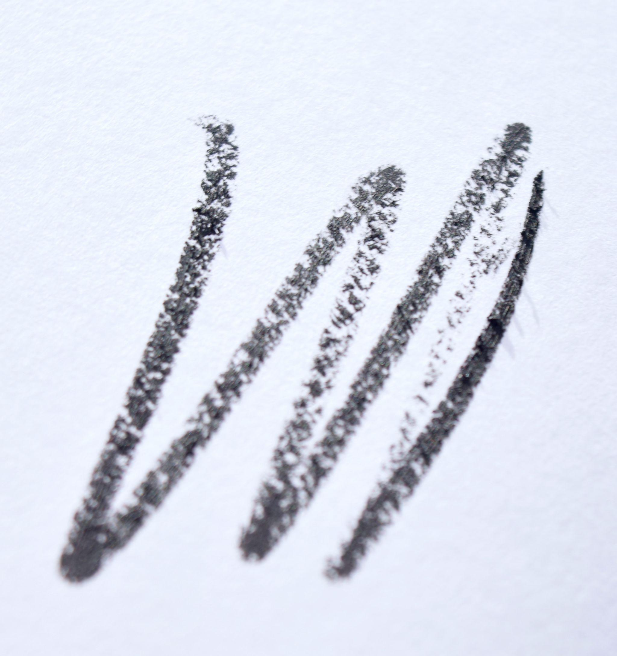 Sisley Phyto-Khol Glittering Eyeliner Black Diamond swatch