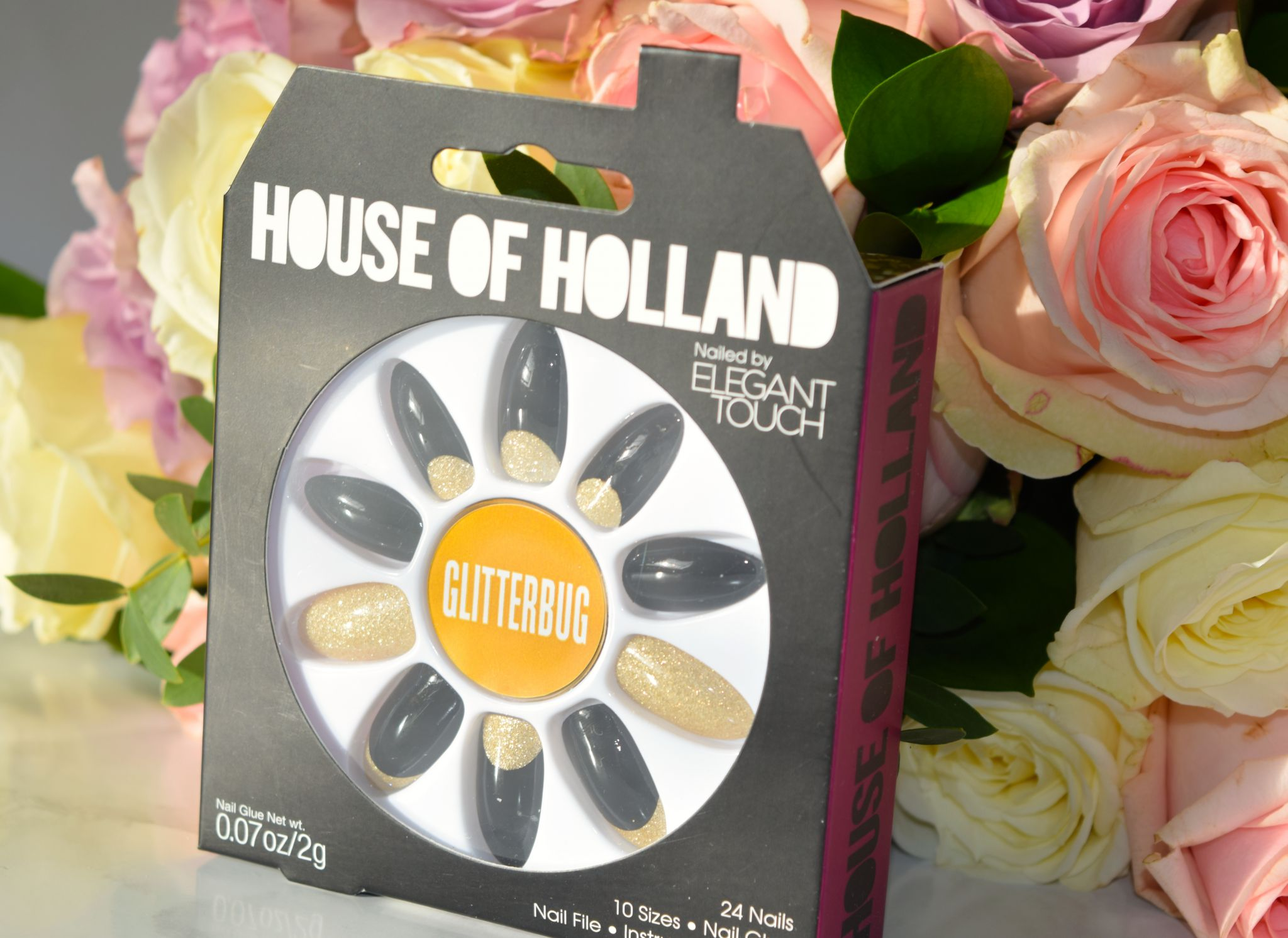 House of Holland Glitterbug Nails