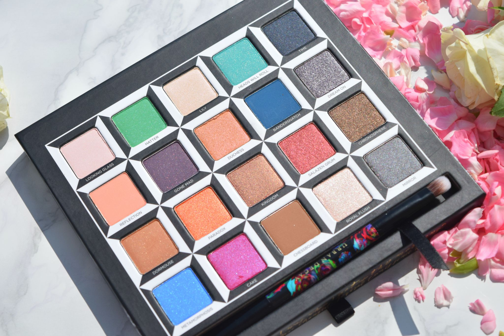 Urban Decay Alice in Wonderland Palette review