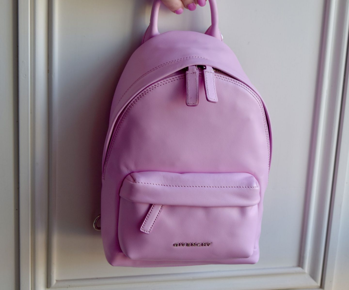 fb519486da7 Givenchy Nano Pink Leather Backpack from Harvey Nichols  - The Luxe List