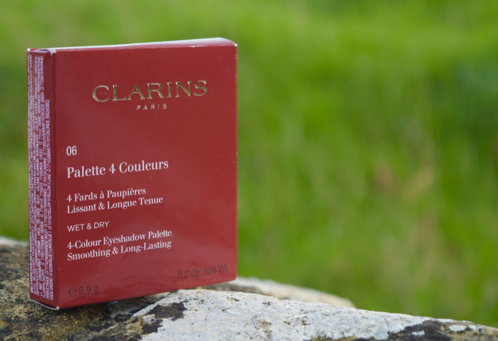 Clarins Palette 4 Couleurs 06 The Luxe List