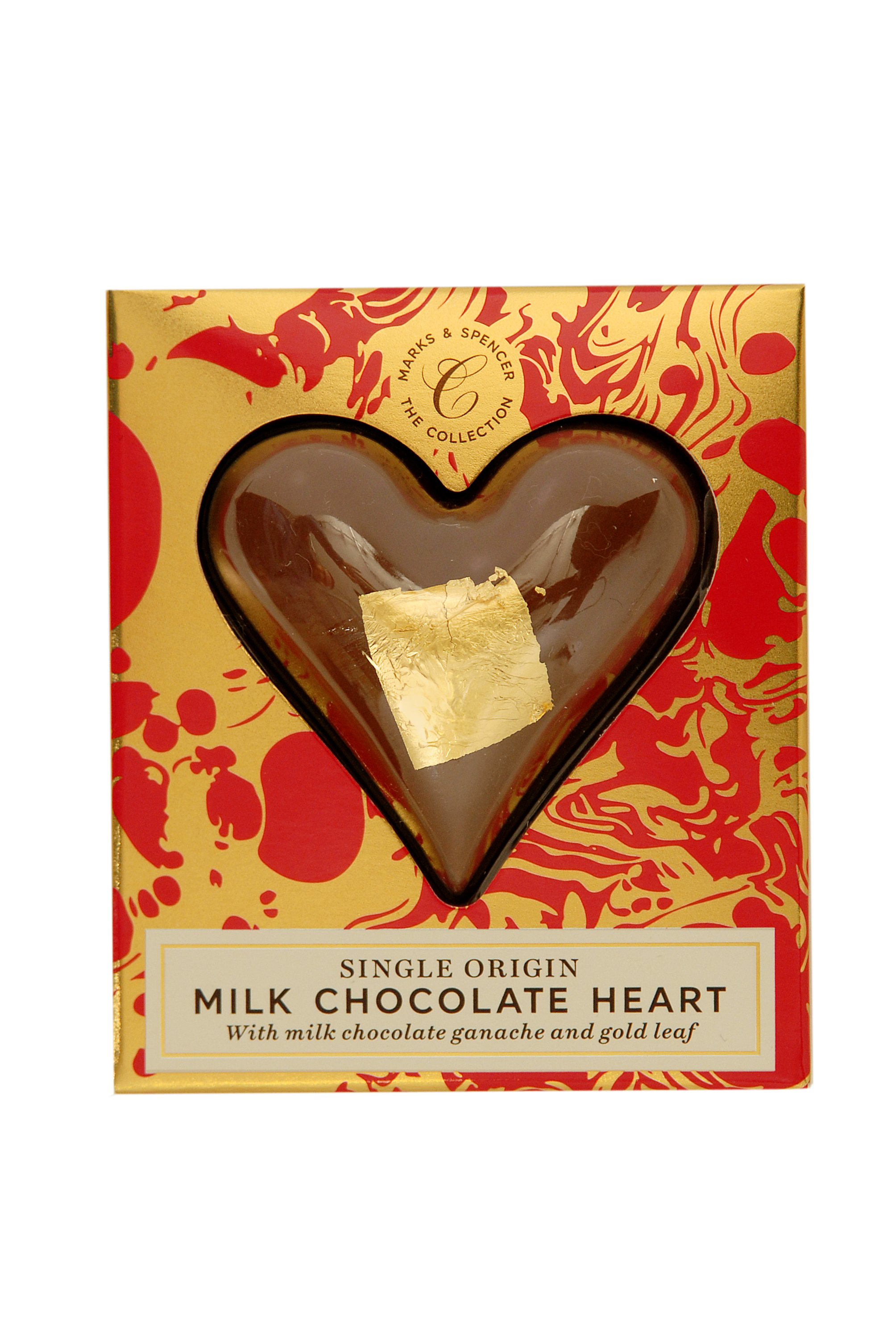 Single Origin Milk Chocolate Heart £3, 26g