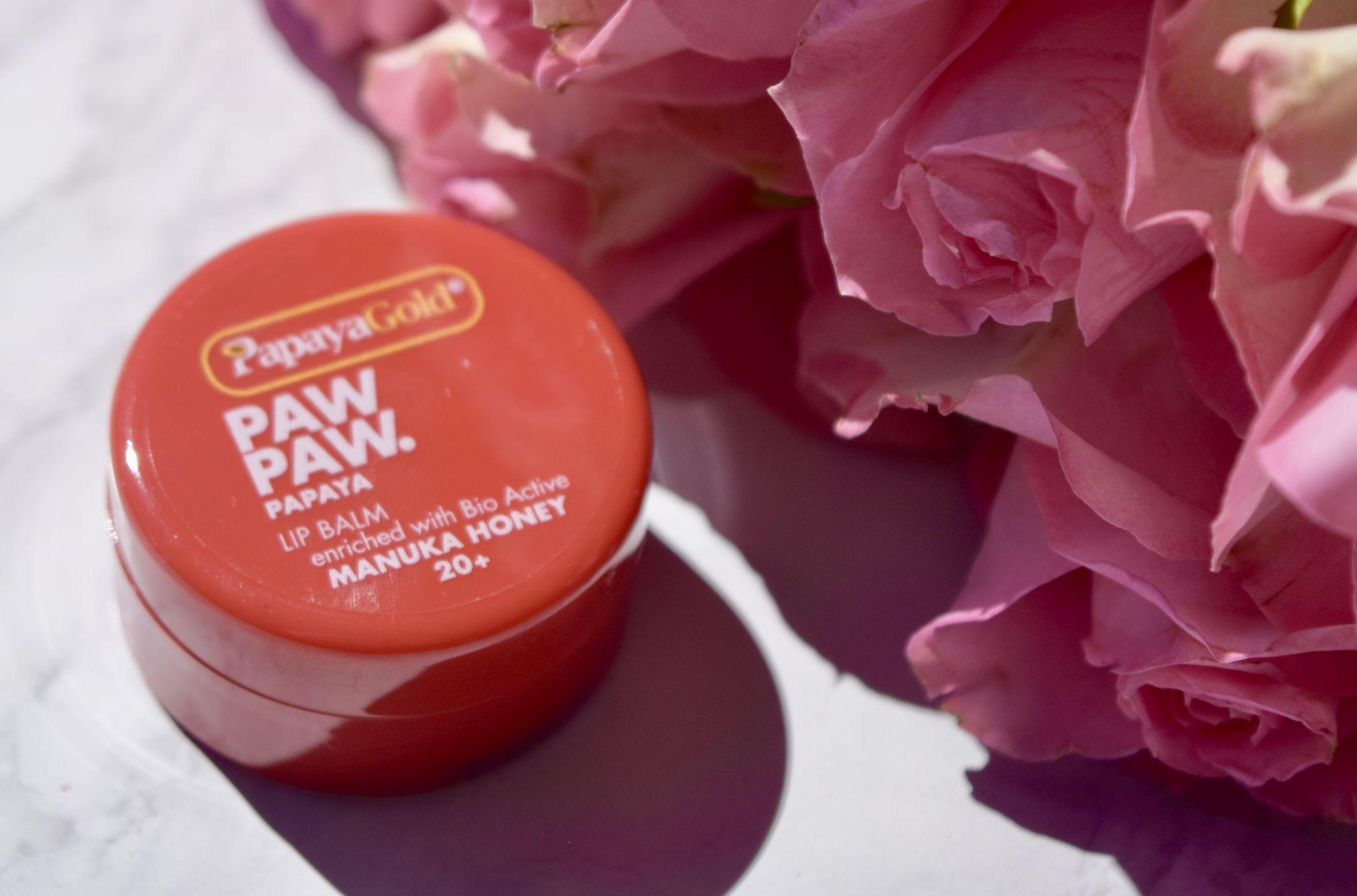 PapayaGold Paw Paw Lip Balm with Manuka Honey