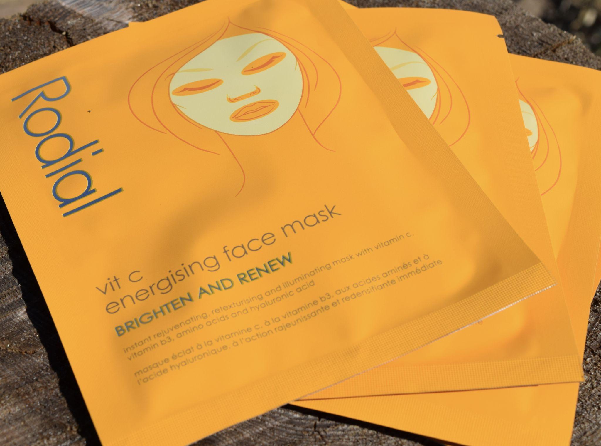 Rodial Vit C Energising Sheet Masks