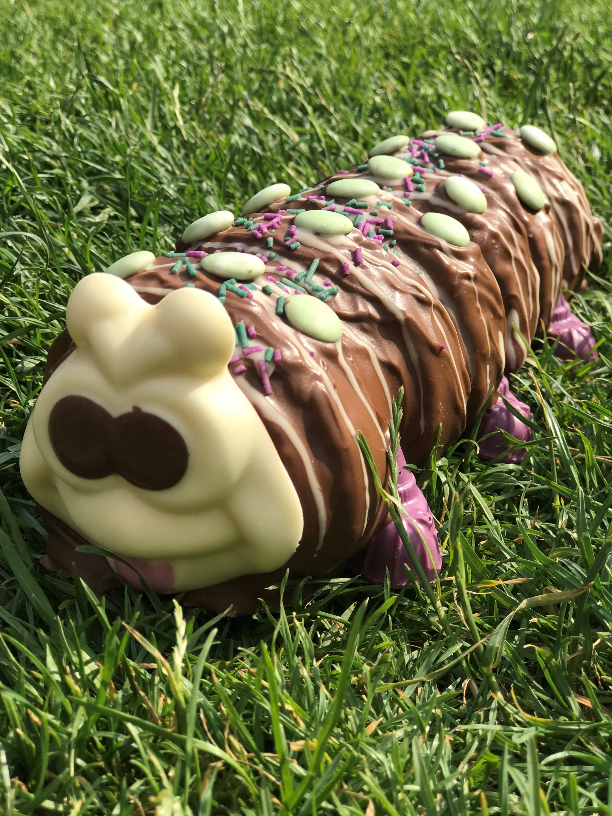 Colin the Caterpillar Side